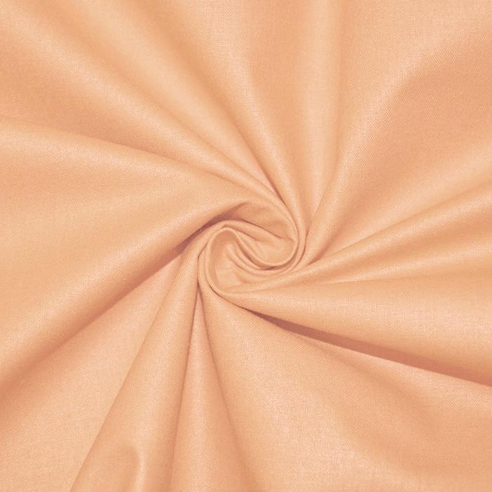 Bombaž, poplin, 16386-19, oranžna