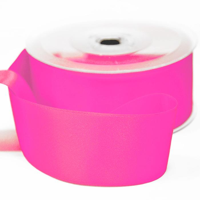 Traka, saten, 40mm, 15461-1012, roza