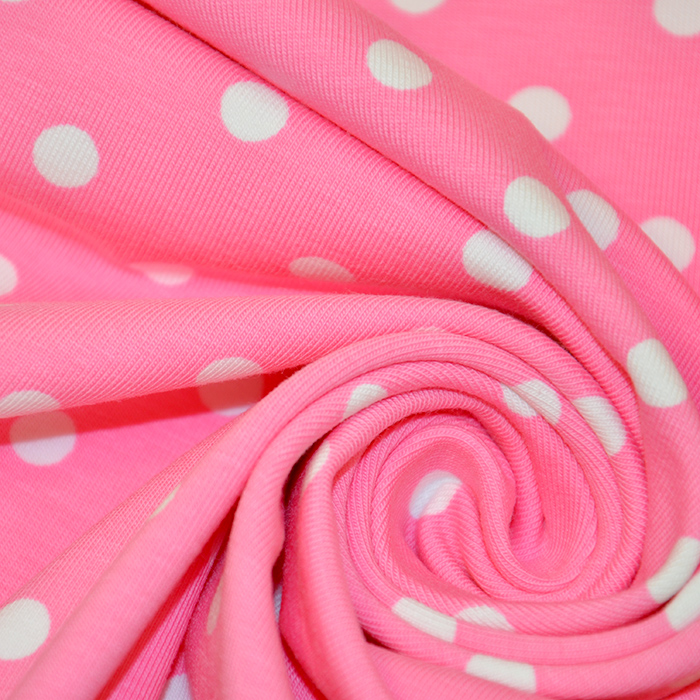 Jersey, bombaž, pike, 17132-0810, roza
