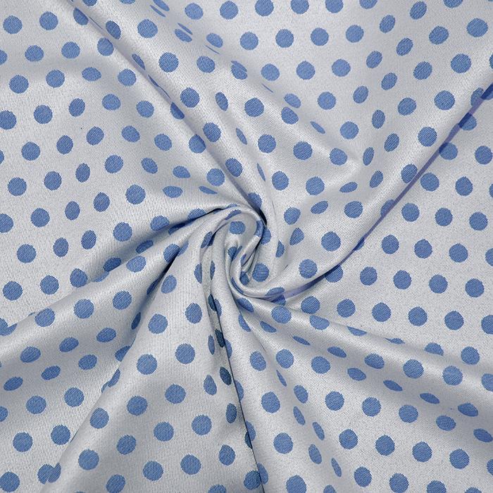 Žakard, pike, 5735-3, modra
