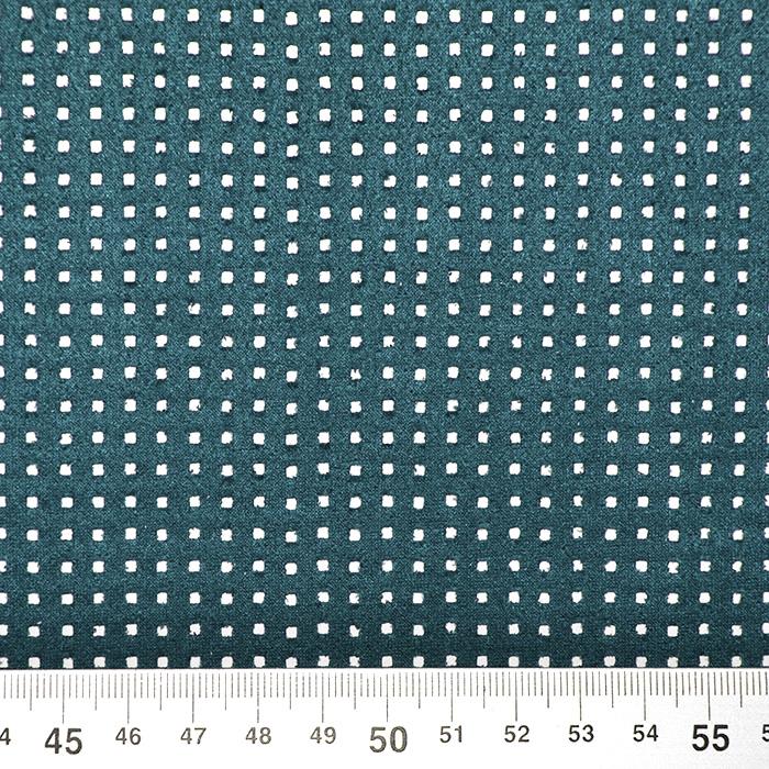 Semiš, brušeno pletivo, 17155-006, petrol