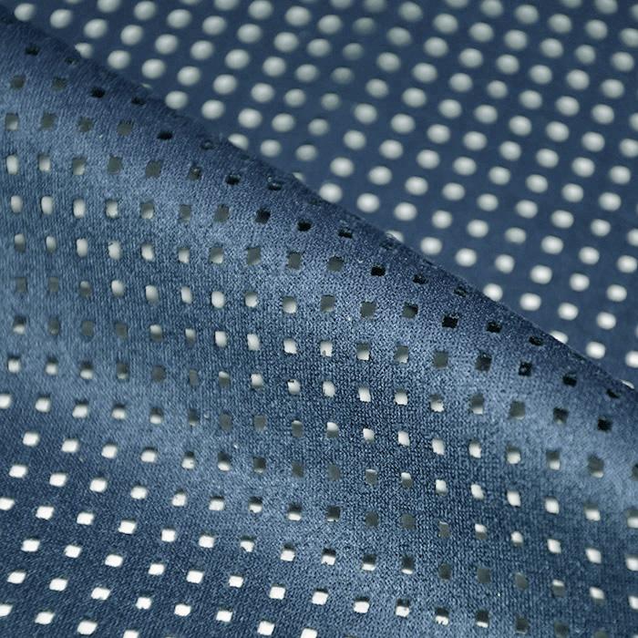 Semiš, brušeno pletivo, 17155-203, modra