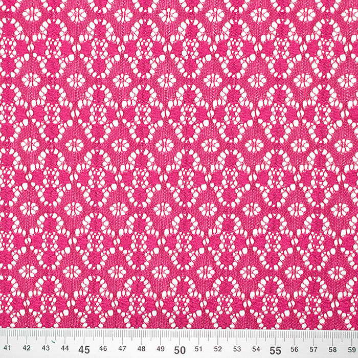 Čipka, elastična, 17172-017, roza