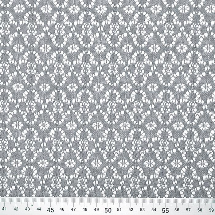 Čipka, elastična, 17172-061, siva