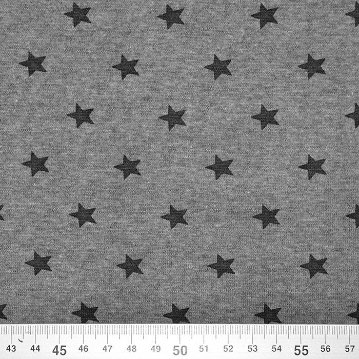 Patent, zvezde, 17185-167, melanž siva
