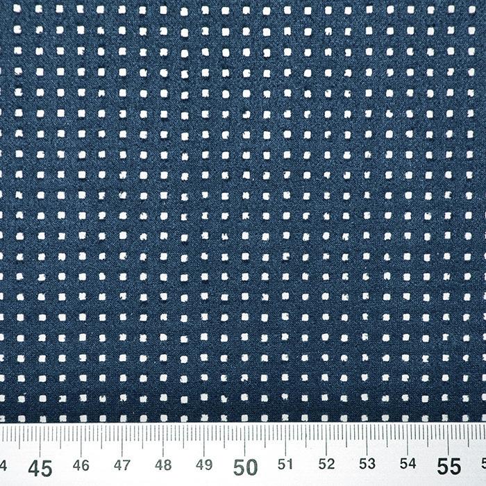 Semiš brušeno pletivo, 17155-007, plava