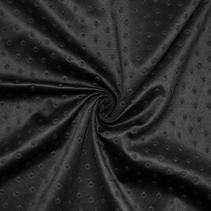 Semiš, brušeno pletivo, 17189-069, črna