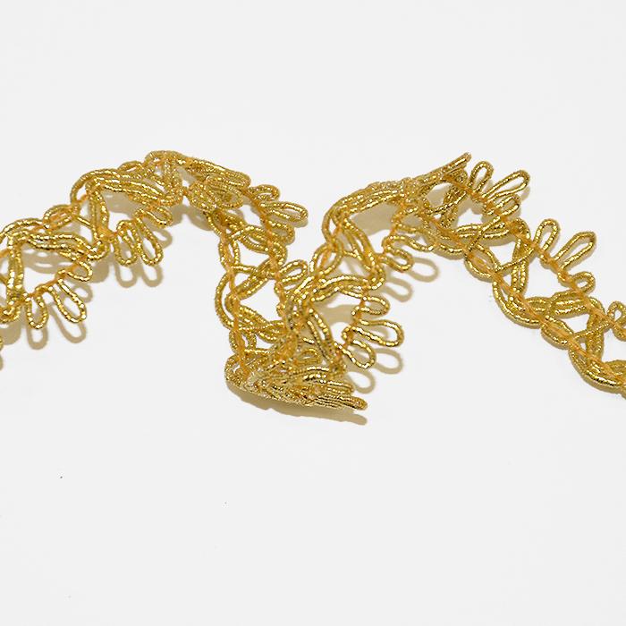 Trak, dekorativni, 17027-10673, zlata