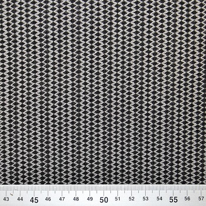 Tkanina, obojestranska, elastična, kare, 17279-069
