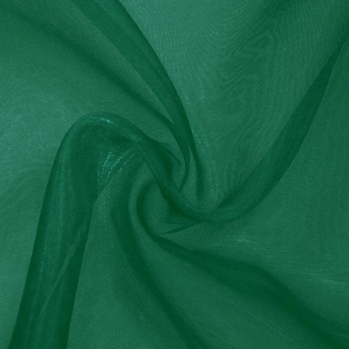 Organza, dvobarvna, 13903-107, zelena
