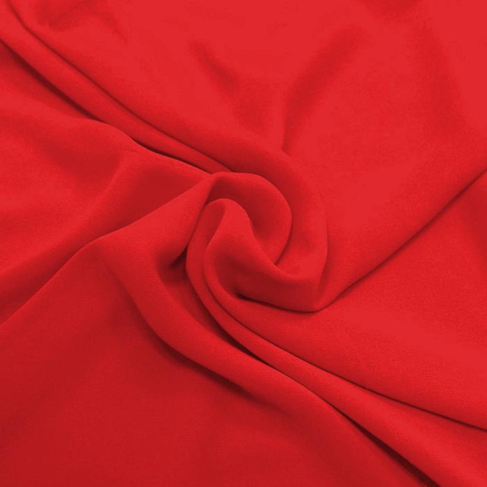 Šifon, poliester, 15174-43, rdeča