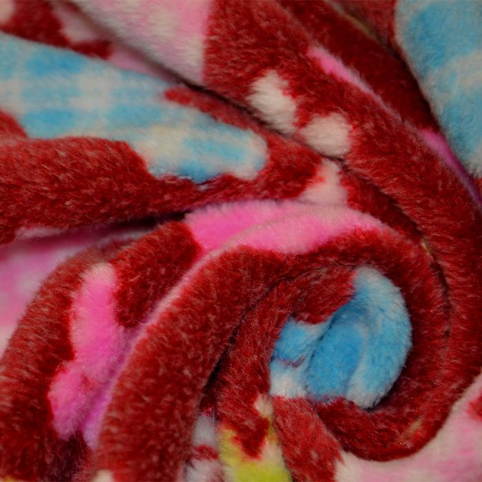 Velur coral, obojestranski, otroški, 17383-03