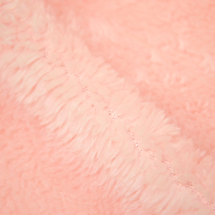 Velur coral, kosmaten, 17395-8, marelica