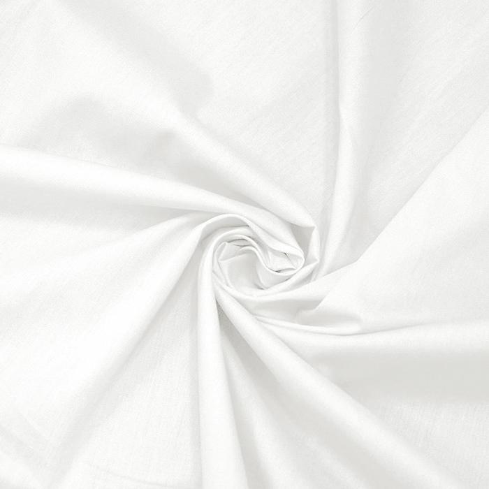 Bombaž, poplin, 5334-050, bela