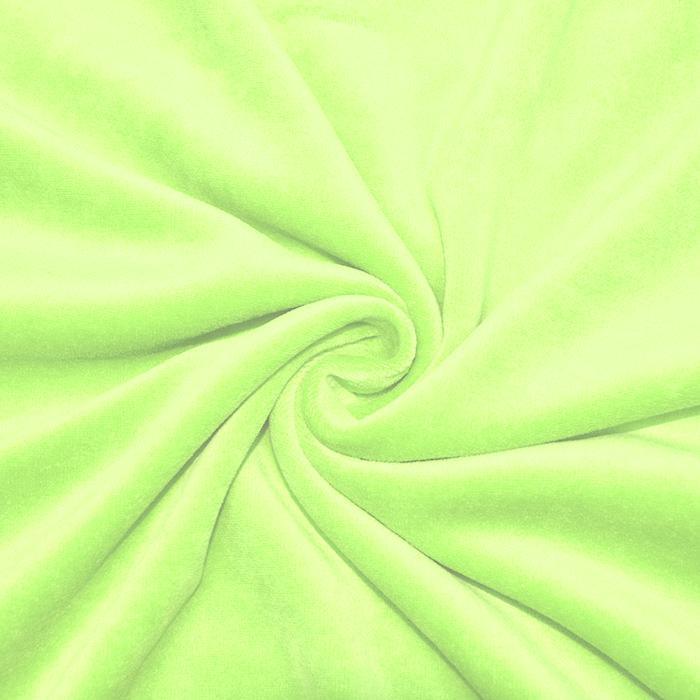 Pliš bombažen, 13348-025, zelena