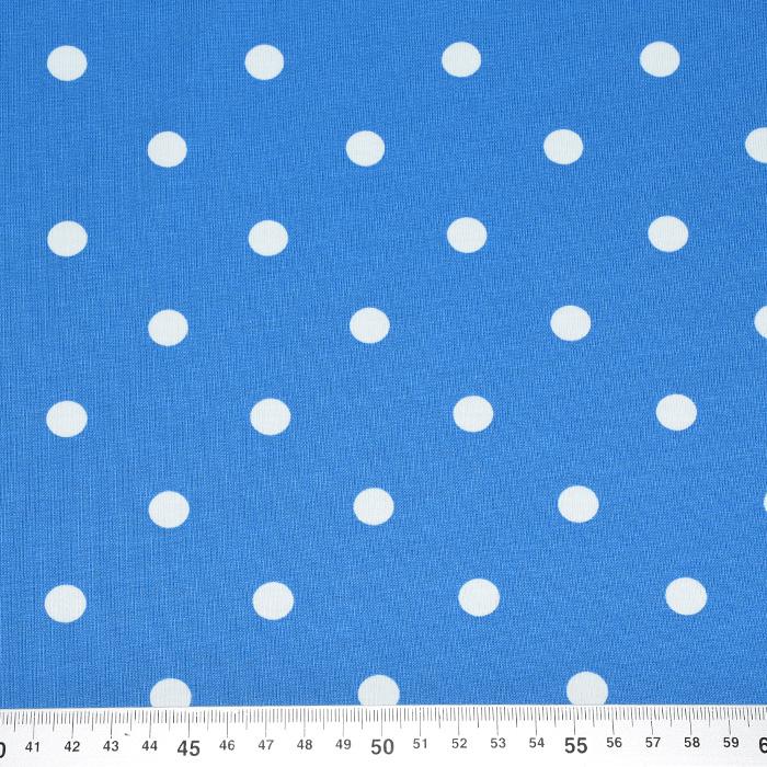 Jersey, bombaž, pike, 17612-004, modra