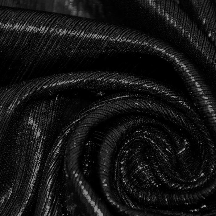 Pletivo, lame, 17596-069, črna