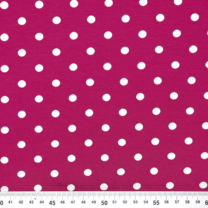 Jersey, bombaž, pike, 17132-7018, roza