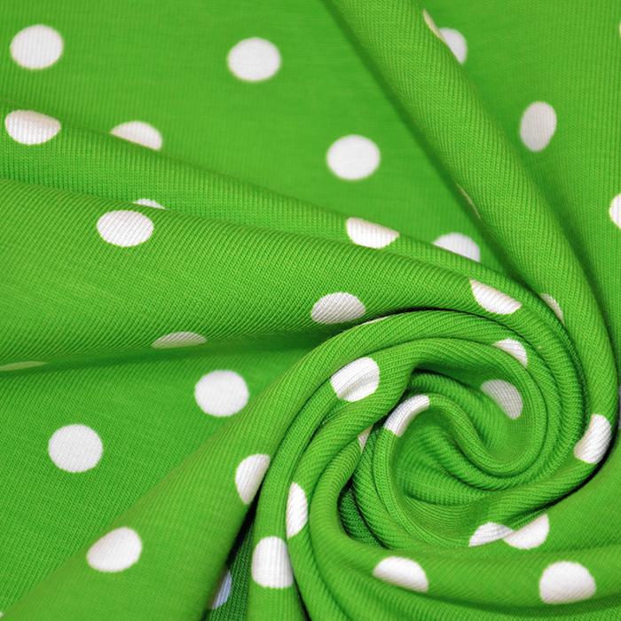 Jersey, bombaž, pike, 17132-5035, zelena