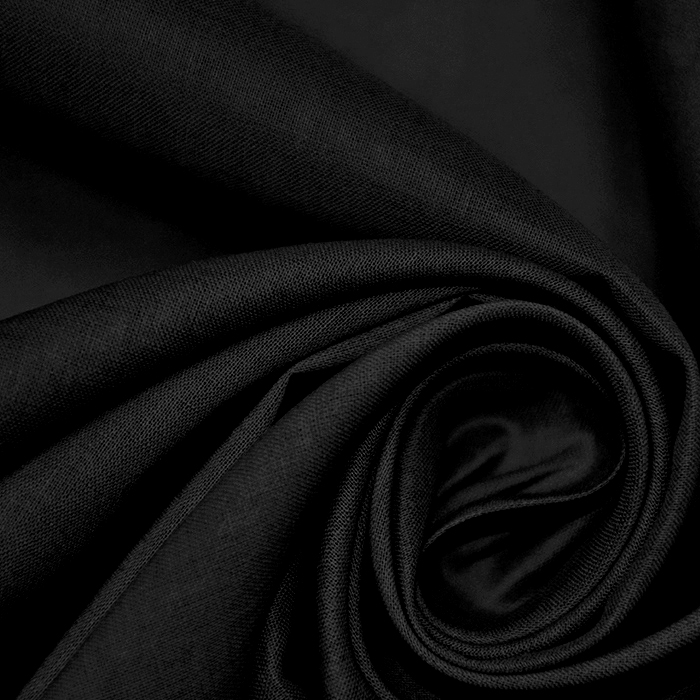 Bombaž, batist, 17831-999, črna