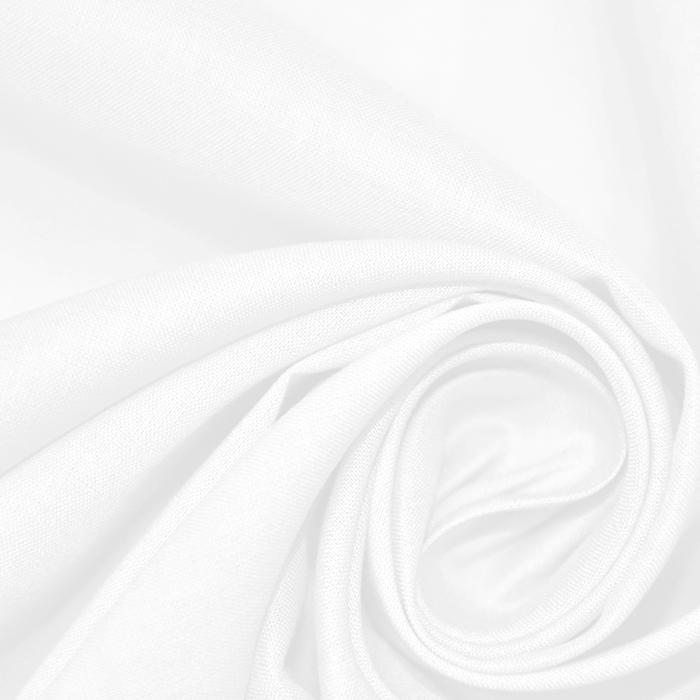 Bombaž, batist, 17831-001, bela