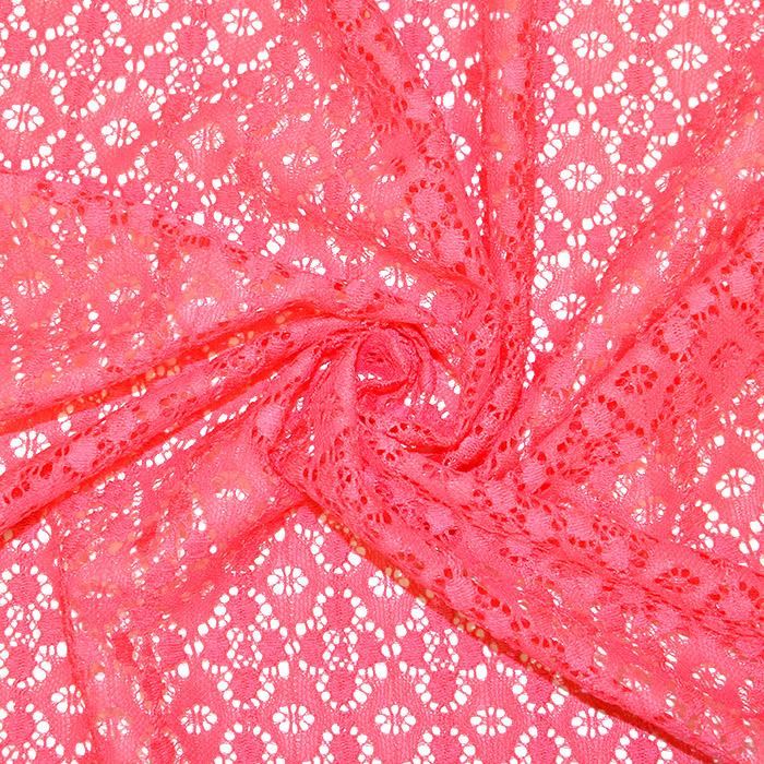 Čipka, elastična, 17172-014, losos