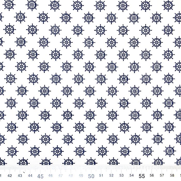 Pamuk, popelin, morski, 17944-001