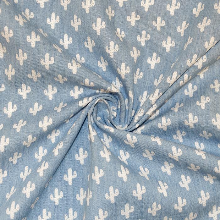 Jeans, srajčni, kaktus, 17946-003, modra