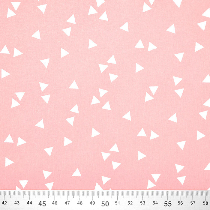 Pamuk, popelin, geometrijski, 17948-012, ružičasta
