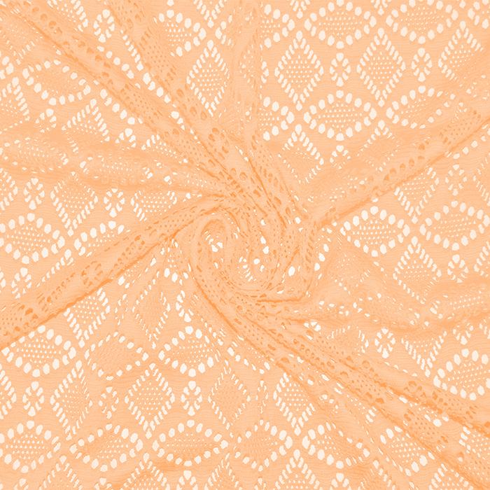 Čipka, elastična, 17610-036, marelična