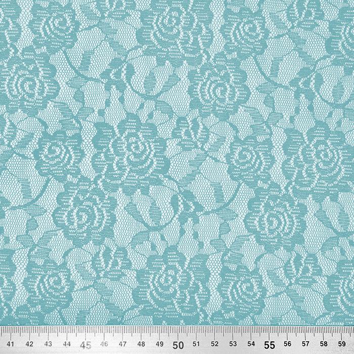 Čipka, elastična, 17903-024, modra