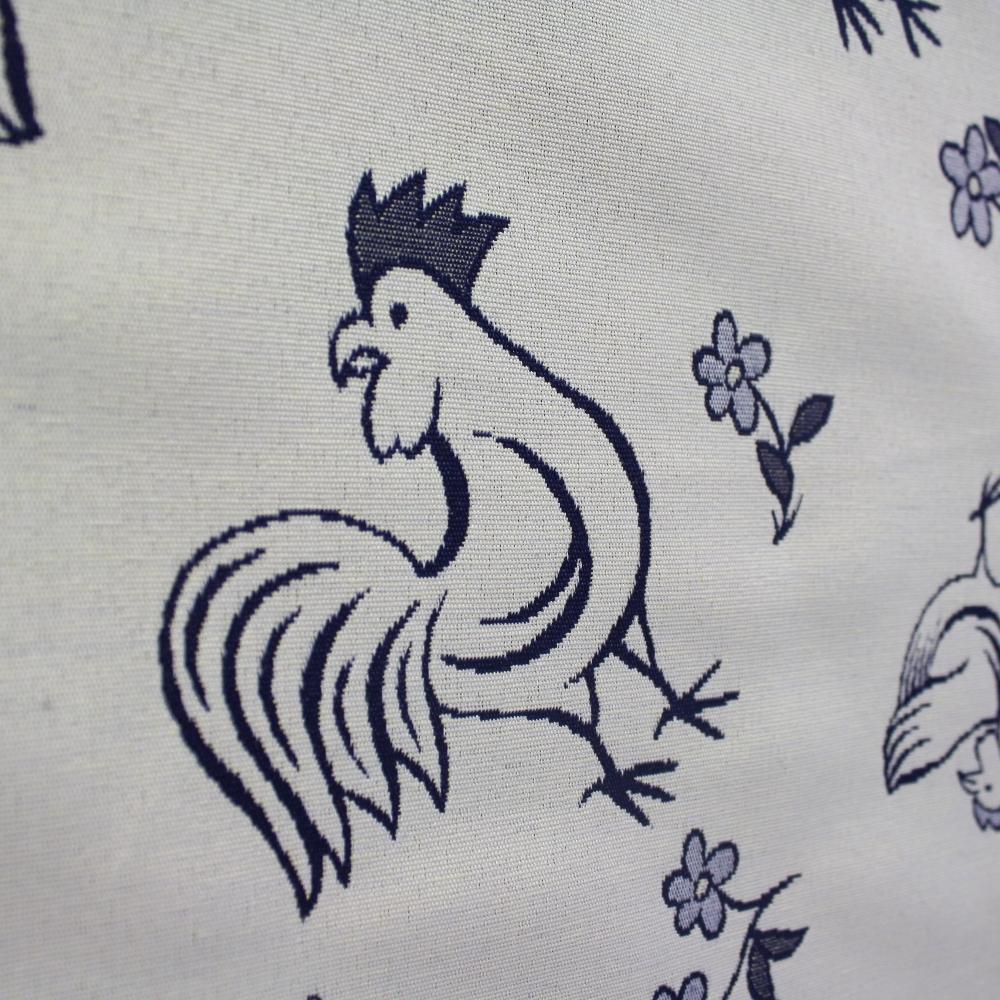 Deko žakard, kokoši, 5615