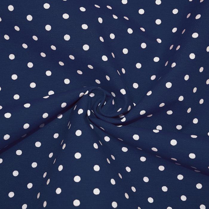 Deko, tisak, točke, 17979-30, tamno plava