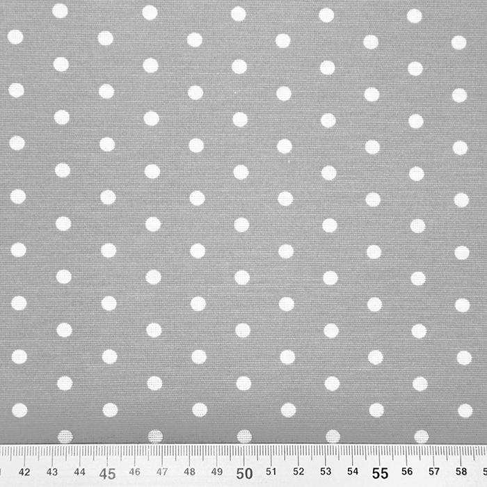 Deko, tisak, točke, 17979-45, siva