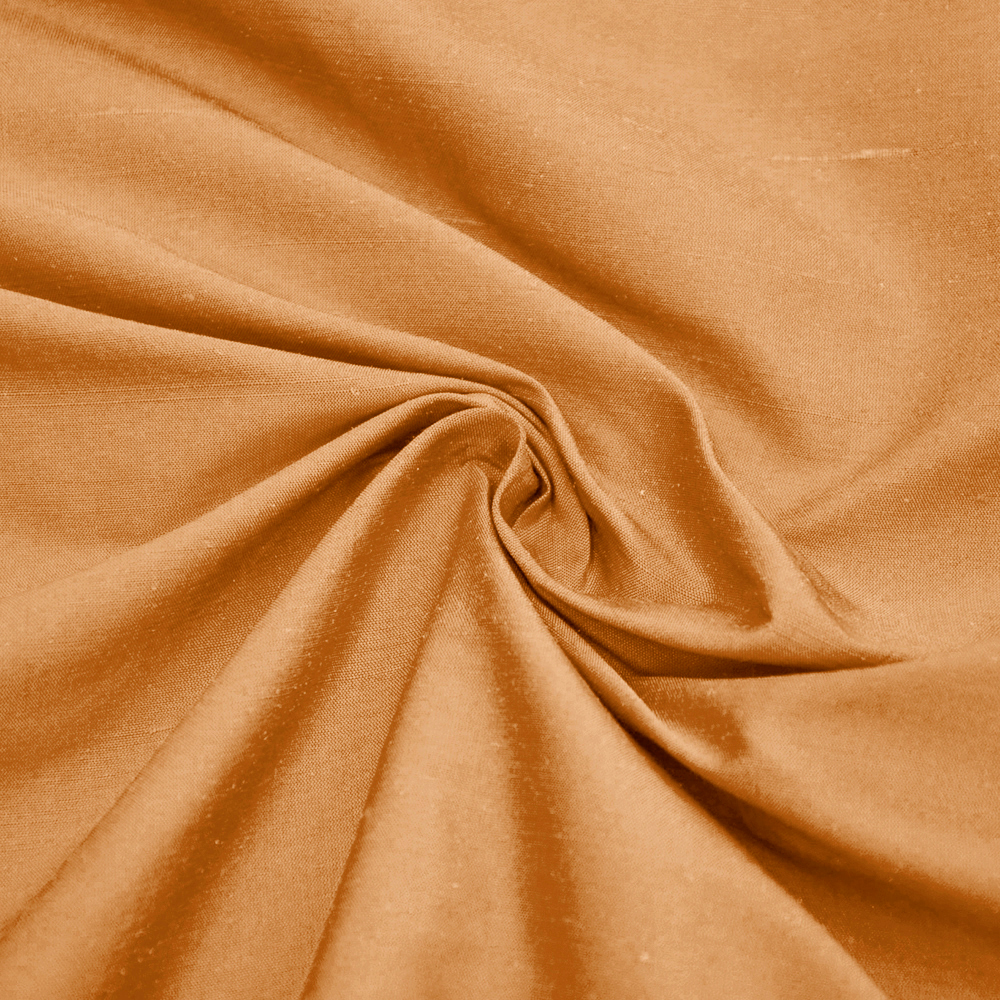 Svila, šantung, 18084-25, medena
