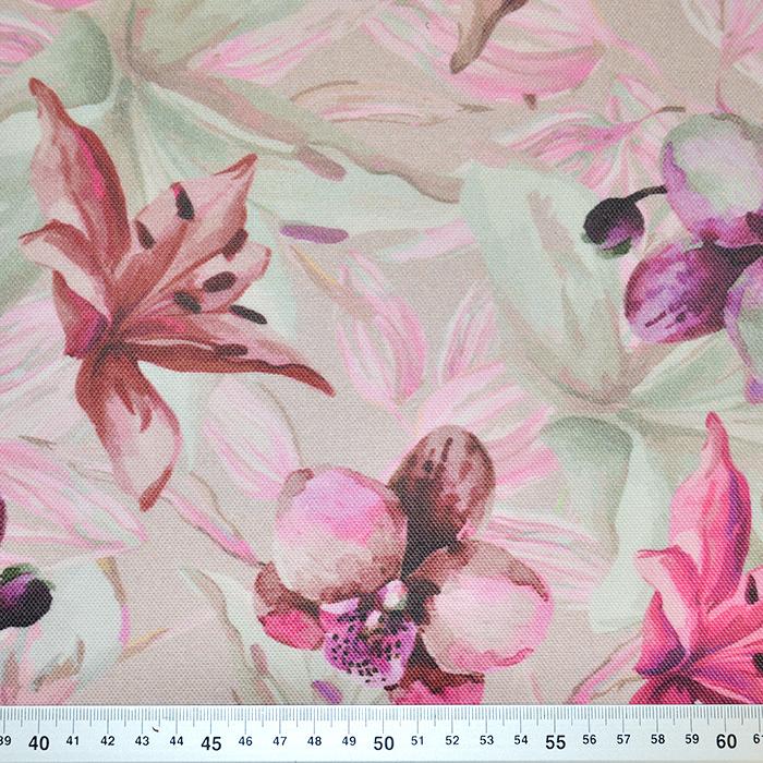 Deko, digitalni tisk, cvetlični, 18117-1401