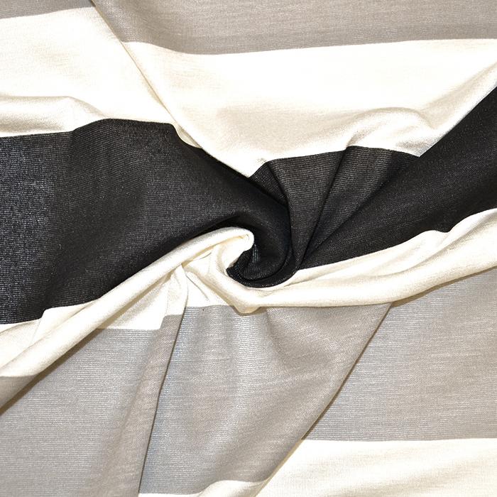 Jersey, viskoza, črte, 18133-11