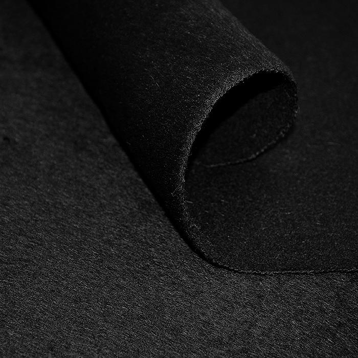 Volna za plašče, kašmir, 18140, črna