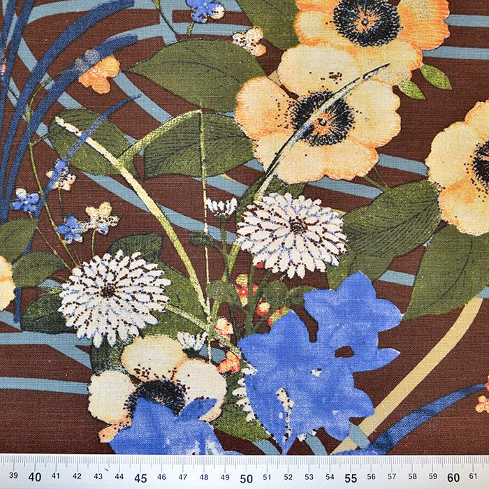 Bombaž, poplin, cvetlični, 18158-12
