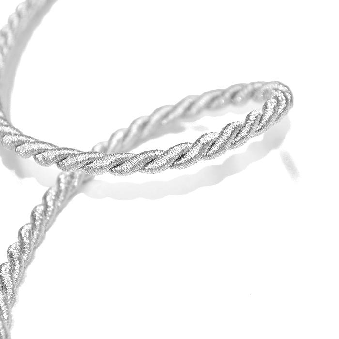 Vrvica, 7mm, 17012-2, srebrna
