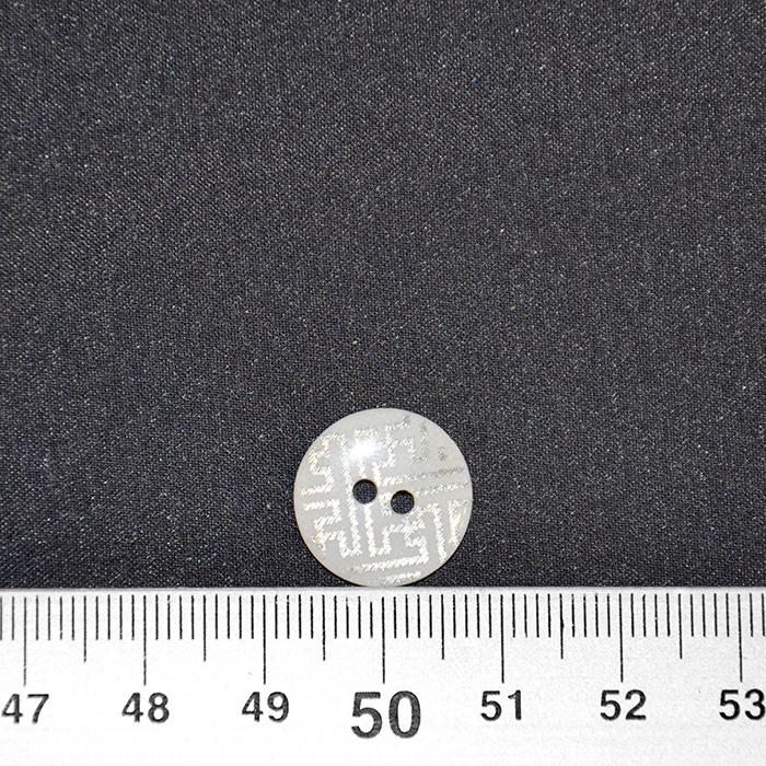 Gumb, kostimski 24, 18337-001, bela