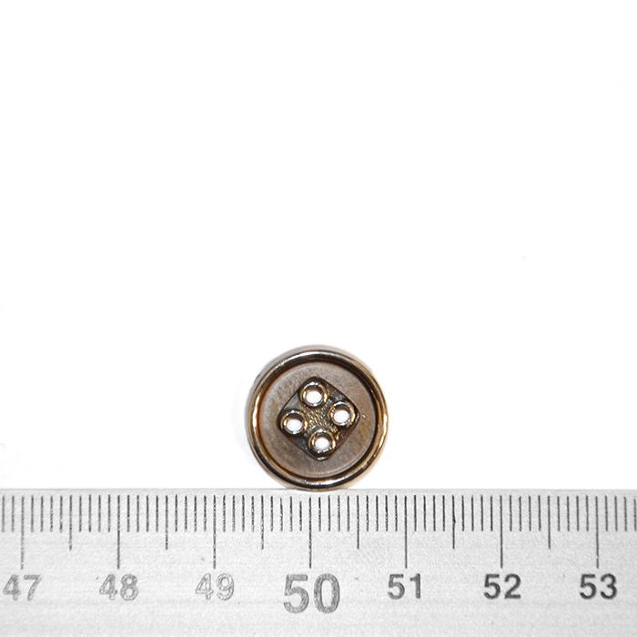 Gumb, kostimski 24, 18340-100, medenina