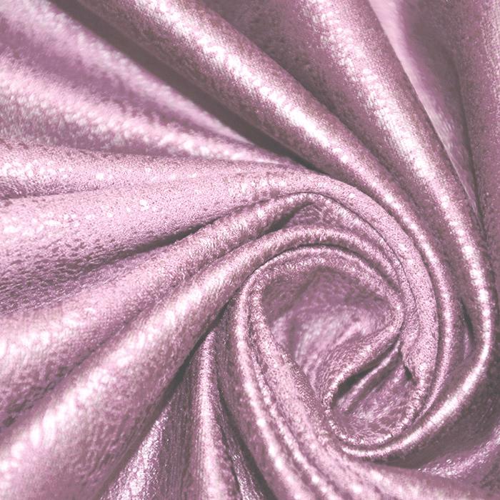 Semiš, brušeno pletivo, 18371-014, roza