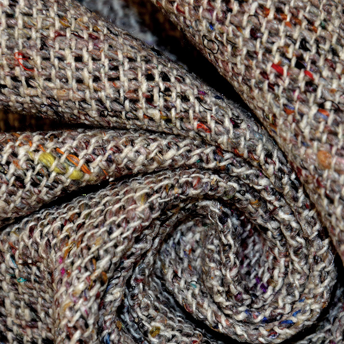 Svila, buret, 18480-001, melanž rjava