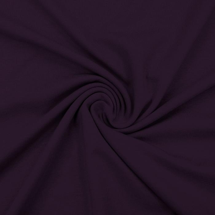 Jersey, viskoza, luxe, 12961-800, temno vijola