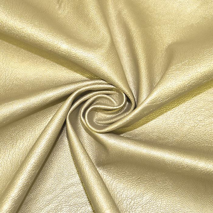 Umetno usnje, oblačilno, 18567-075, zlata
