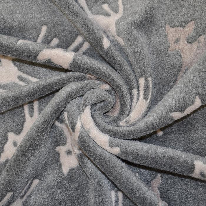 Velur coral, obojestranski, živalski, 15986-921