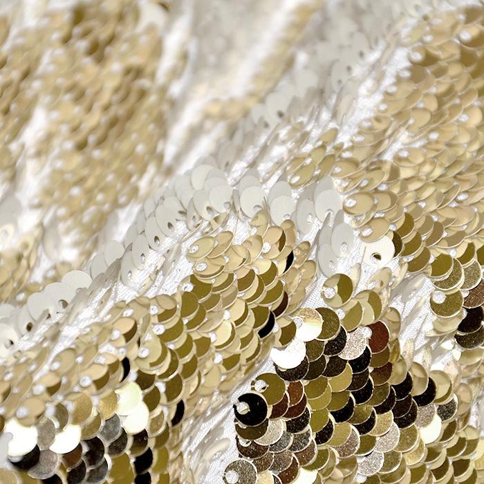 Bleščice, jersey, 17598-072, belo zlata
