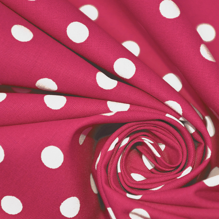 Bombaž, poplin, pike, 17952-018, roza