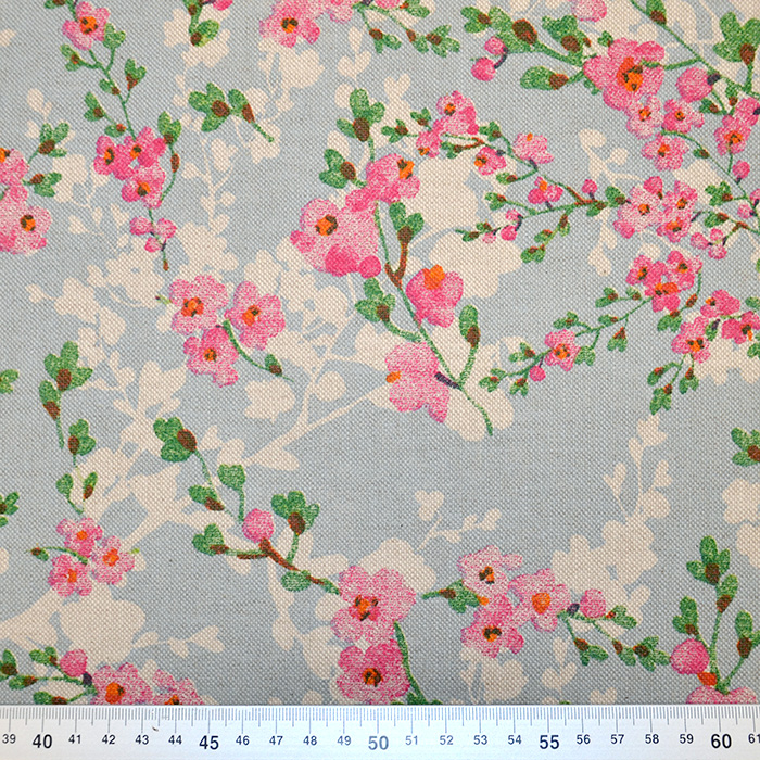 Deko, tisk, cvetlični, 15188-229